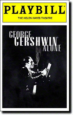 George Gershwin Alone at Gershwin Theatre