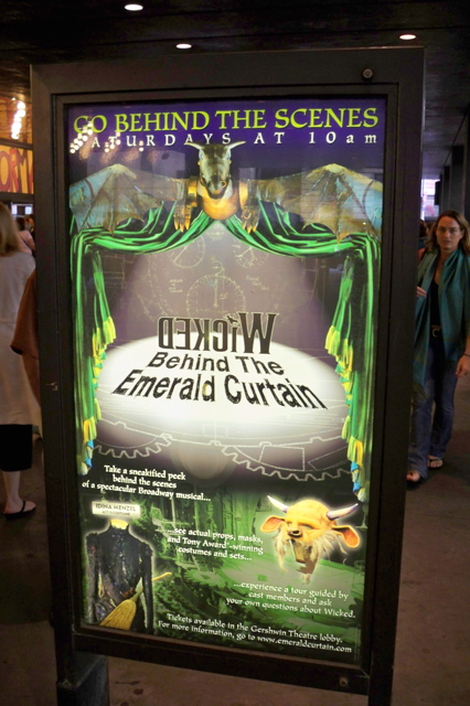 Wicked - Behind The Emerald Curtain at Gershwin Theatre