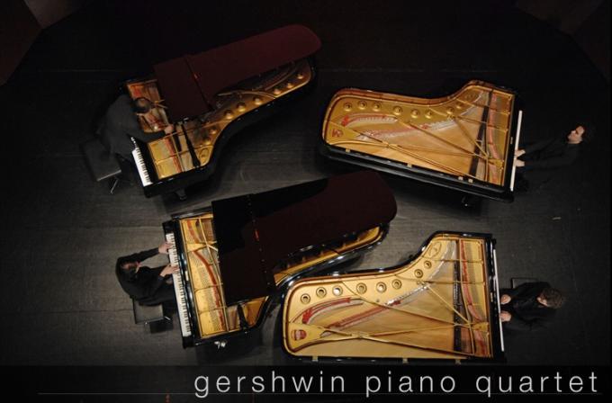 Gershwin Piano Quartet at Gershwin Theatre