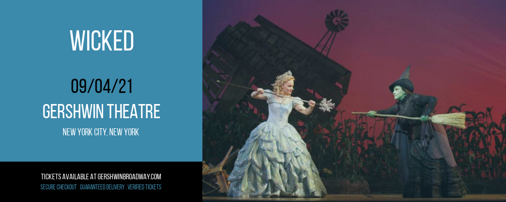 Wicked [CANCELLED] at Gershwin Theatre