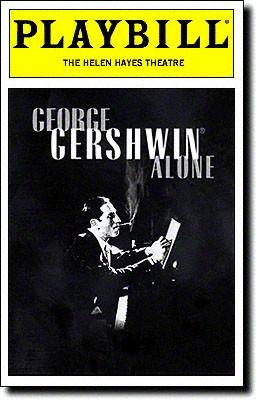 George Gershwin Alone at Gershwin Theatre